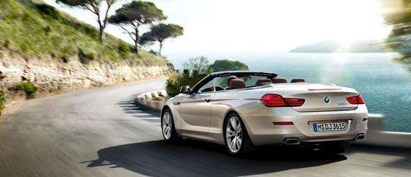 BMW 650 Convertible rental miami
