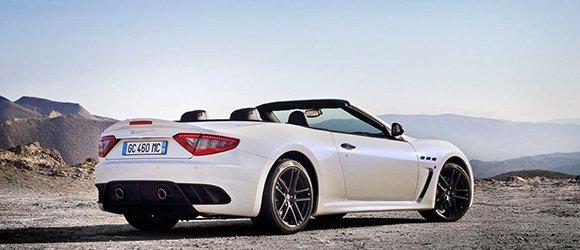 Maserati Granturismo Convertible rental miami