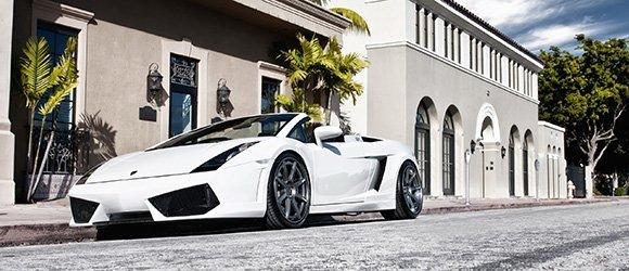 Lamborghini Gallardo Spyder rental miami