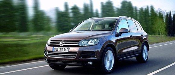 Volkswagen Touareg rental miami