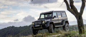 Mercedes Benz G550 4x4 Squared